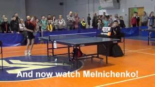 Смотреть онлайн Неадекватный игрок в настольный теннис