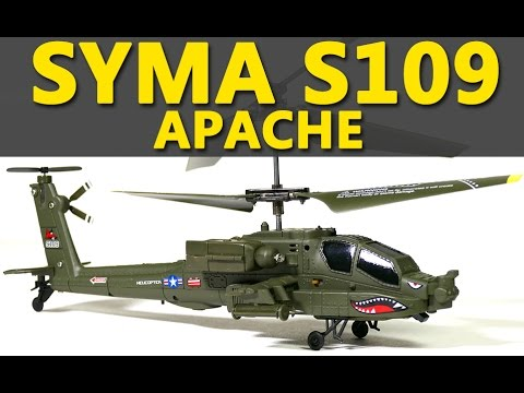 Syma S109 Apache RC Helicopter