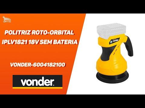 Politriz Roto-Orbital IPLV1821 18V sem Bateria  - Video