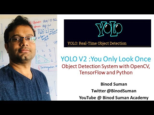 YOLO Tutorial Part - 1 | Install Yolo DarkFlow on Windows | Video Object Detction | Implement YOLO