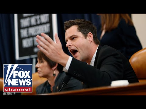 Impeachment tensions flare: Matt Gaetz goes after Nadler