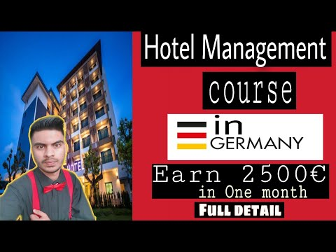 Hotel Management Diploma   free hotel management course in Germany