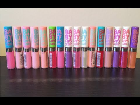 Maybelline Baby Lips Lip Gloss Review & Giveaway!