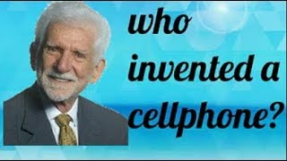 Who Invented a cell Phone