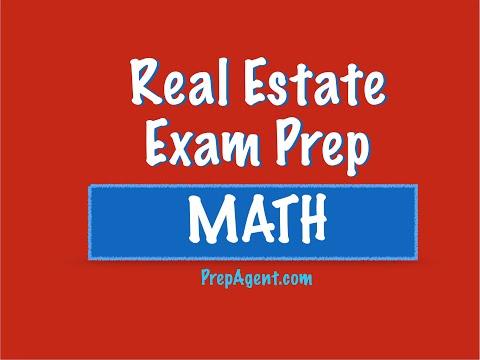 Finance problem - Real Estate Exam math - YouTube