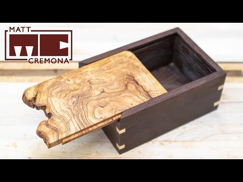 Building a Sliding Burl Lid Box