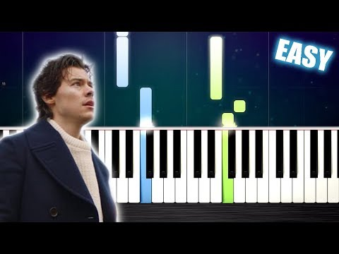 Harry Styles - Sign of the Times - EASY Piano Tutorial by PlutaX