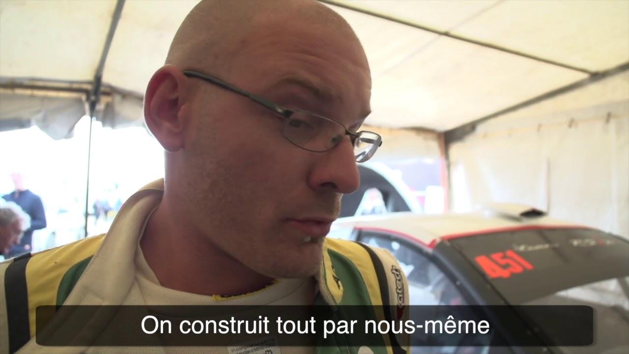 Le portrait de Guillaume Pinson, pilote Yacco à Mayenne...