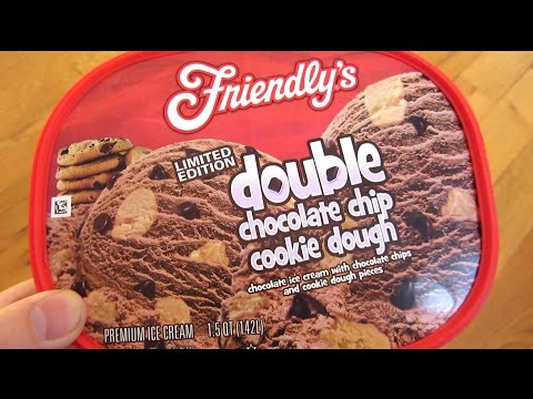 Friendly's Ice Cream - Double Chocolate Chip Cookie Dough Limited Edition
