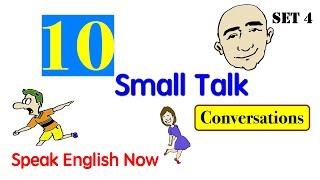 Small Talk | Set 4 | Showing Emotion | English Speaking Practice | ESL | EFL | ELL