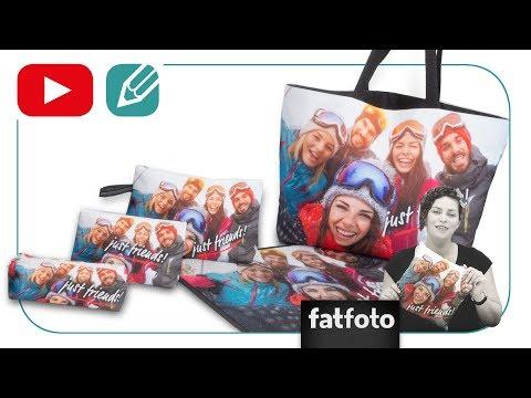 fatfoto Fotogeschenke mit randlosem Druck selbst gestalten