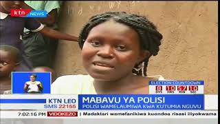 Polisi walaumiwa kwa kutumia nguvu kwa maandamano kaunti ya Kisumu