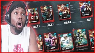 Madden 17 Ultimate Team - 99'S AT EVERY POSITION GRIND!! ( MUT 17 XB1)