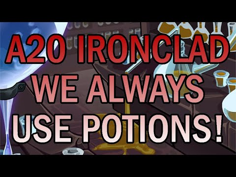 Making the Most Potions! | Ascension 20 Ironclad Run | Slay the Spire