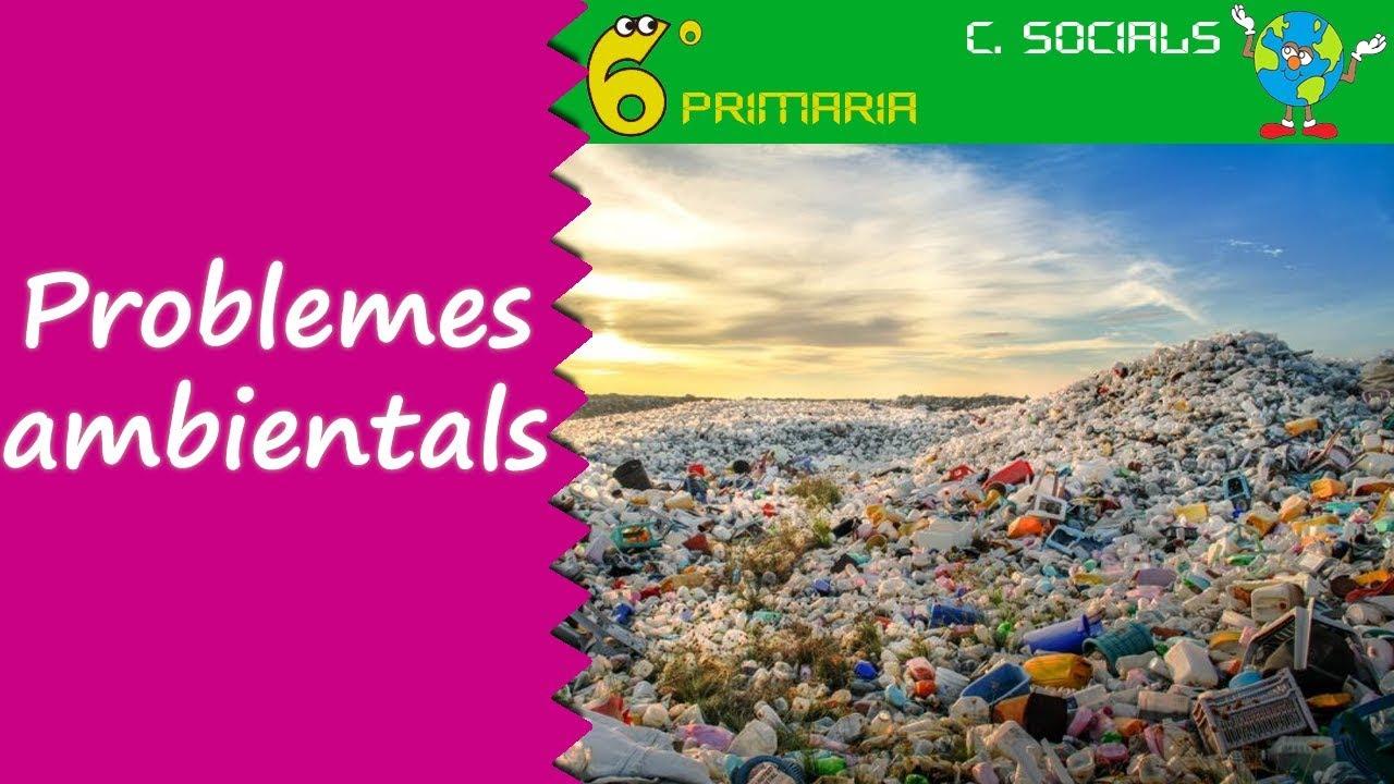 Problemes ambientals. Socials, 6é Primària