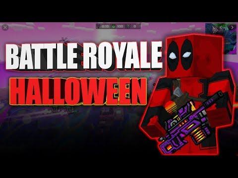 Pixel Gun 3D - Battle Royale Halloween Battle - JustZaku