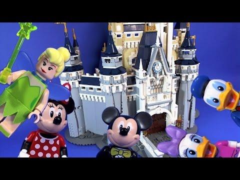 Vidéo LEGO Disney 71040 : Le château Disney