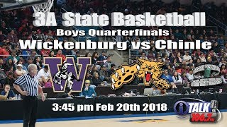 Wickenburg vs Chinle 3A State Basketball Quarterfinals Full Game