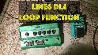 Line6 DL4 Loop Function