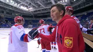 КХЛ событие – Олимпийская сборная России на турнире Sochi Hockey Open