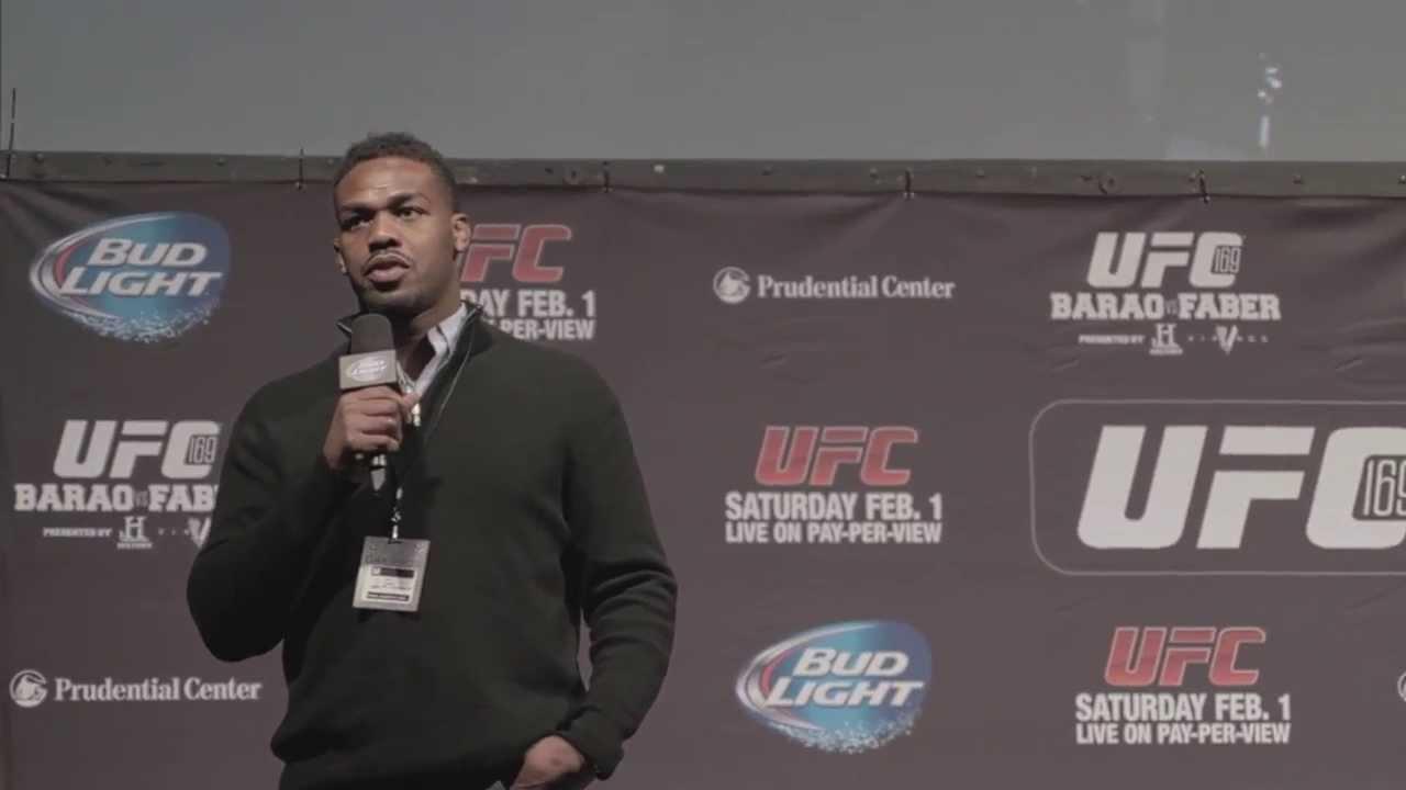 On the Spot at UFC 169: Jon Jones Q&A + The Weigh Ins thumbnail