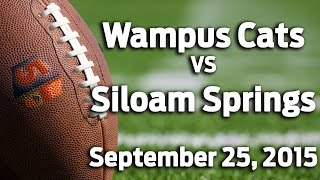 Wampus Cats VS Siloam Springs