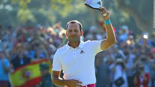 Golfer Sergio Garcia Calls For Spain To Be More Together