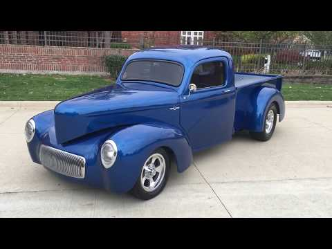 1941 Willys 441 : 1941 Willys Pickup - 327CI - Air Conditioning- Automatic - built on S10