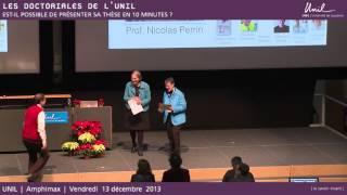 Doctoriales 2013 : Prix des posters et conclusion