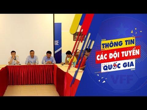 Lãnh đạo VFF gặp gỡ và động viên ĐT U16 Việt Nam trước ngày lên đường dự giải châu Á