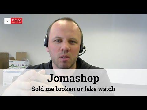 Jomashop - Sold me broken or fake watch