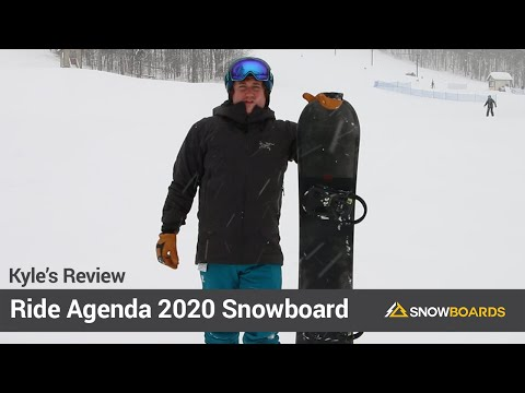 Video: Ride Agenda Snowboard 2020 13 40