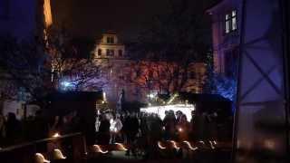 preview picture of video 'Romantischer Weihnachtsmarkt auf Schloss Thurn und Taxis zu Regensburg gefilmt mit einer Lumix GH2'