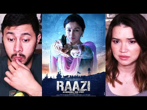 RAAZI | Alia Bhatt | Vicky Kaushal | Trailer Reaction!