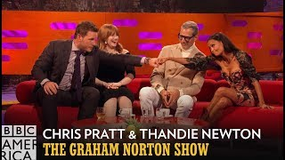 Thandie Newton and Chris Pratt Discuss Bush vs. No Bush - The Graham Norton Show