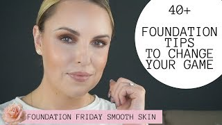 40+ FOUNDATION TRICKS FOR FOR SMOOTH & PERFECT APPLICATION   Oily to Dry Skin Tips