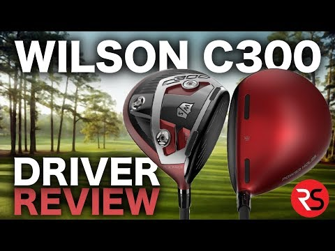 The DRIVER worth testing….Wilson C300 Driver Review