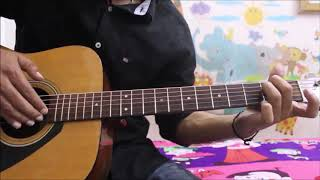 Vilen - Ek Raat - Sad Hindi Guitar Cover Lesson chords easy beginners