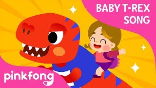 Can I Have a T-Rex? | Baby T-Rex Songs | Dinosaur Songs | Pinkfong Songs for Children