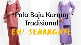 #Bajukurung   CARA DRAF POLA BAJU KURUNG TRADISIONAL (BASIC) | MASZ HASHIM