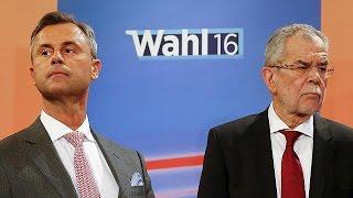 Neue Hochrechnung: Van Der Bellen Bei Präsidentenwahl In Österreich Knapp Vorne