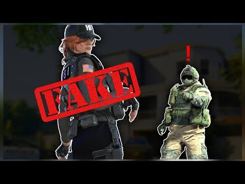 PLAYING WITH A FAKE GAMER GIRL! - Rainbow Six Siege