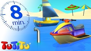TuTiTu Specials | Water Toys for Children | Boat, Jet Ski and More!