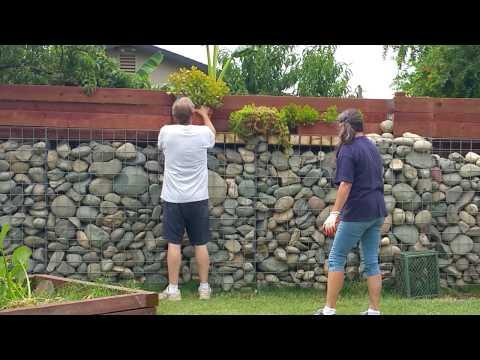 Gabion Wall DIY 2018