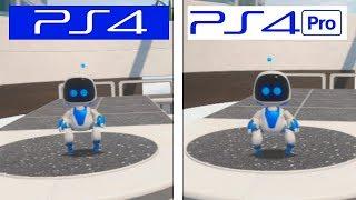 Astro Bot | PS4 vs PS4 Pro | Graphics Comparison & Framerate Test