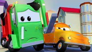 Odtahové auto pro děti Popelářské auto Gary 3 Odtahové auto Tom ve Městě Aut