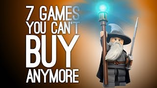 7 Great Games You Can't Buy Anymore, Because Lawyers