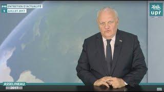 Asselineau et l'actu géopolitique, Moyen-Orient, vaccins obligatoires...