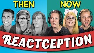COLLEGE KIDS REACT TO THEMSELVES ON TEENS REACT #5