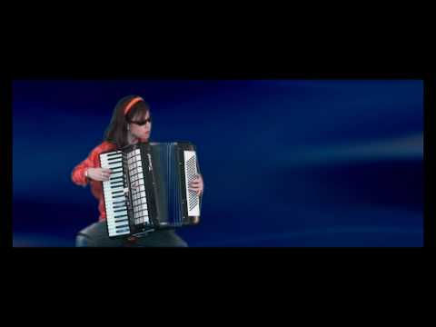 Accordion Solo - Flight of the Bumble Bee(Classical Version) by Annie Gong
